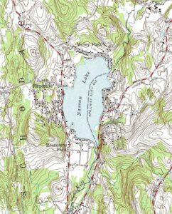 Nassau Lake Topo Map